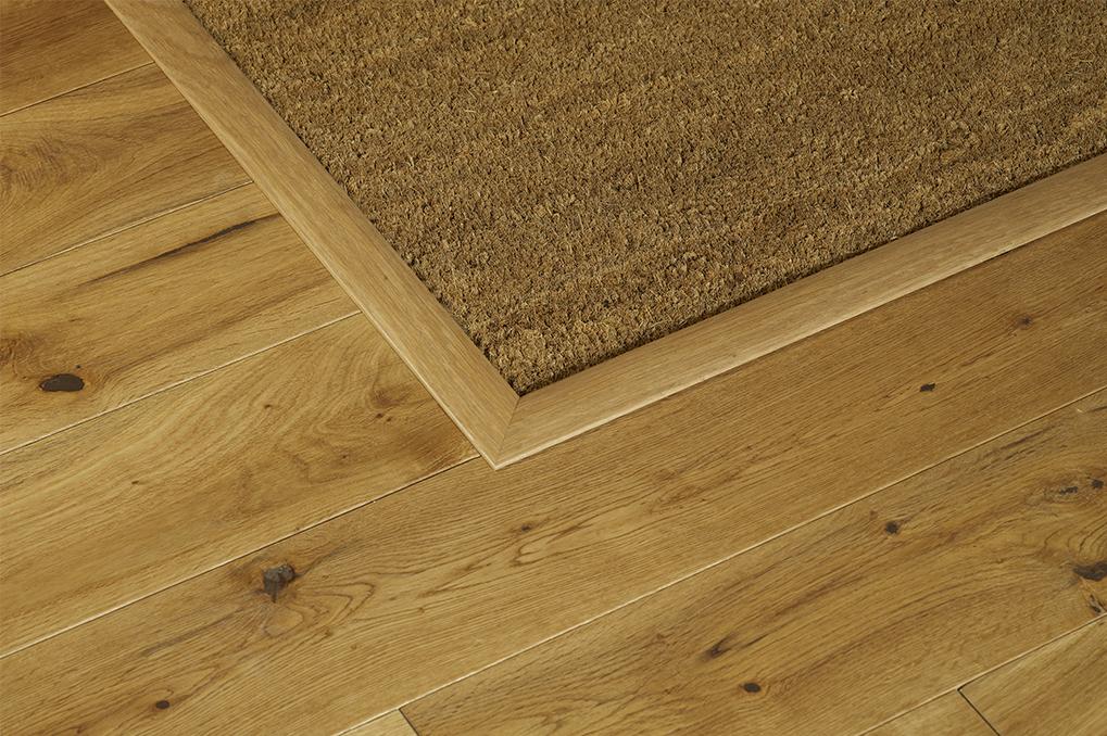 How to clean wood flooring coir matting