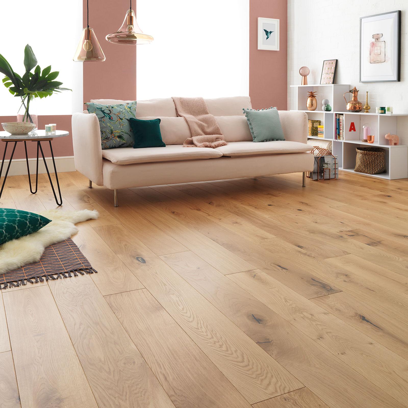 warm wood floors harlech rustic oak
