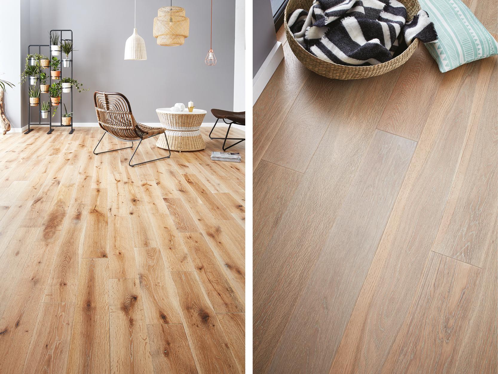 white washed wood flooring