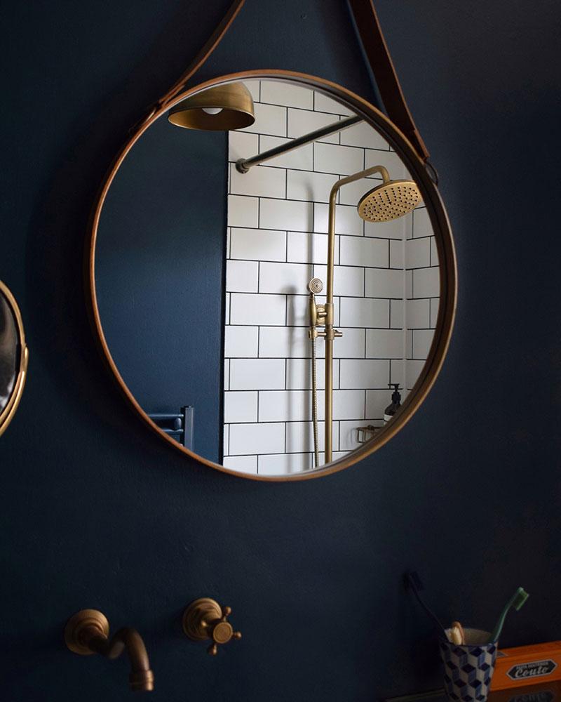 mørke interiør stil små rum