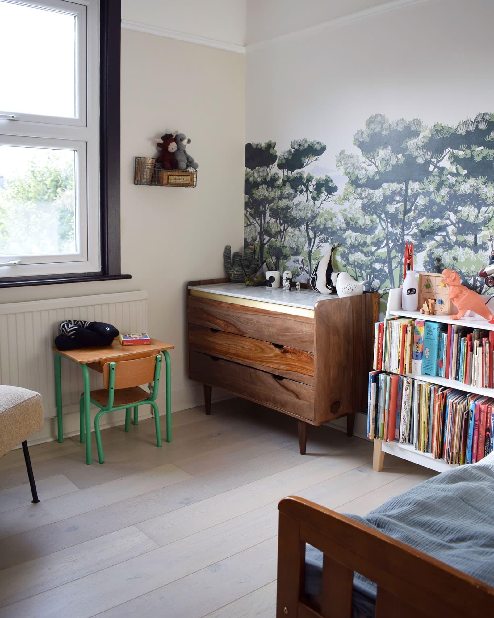 børns soveværelse i skandinavisk stil