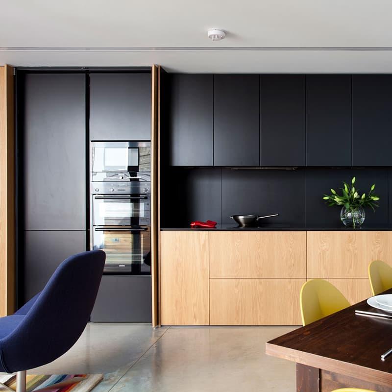 2019 kitchen trends matte black