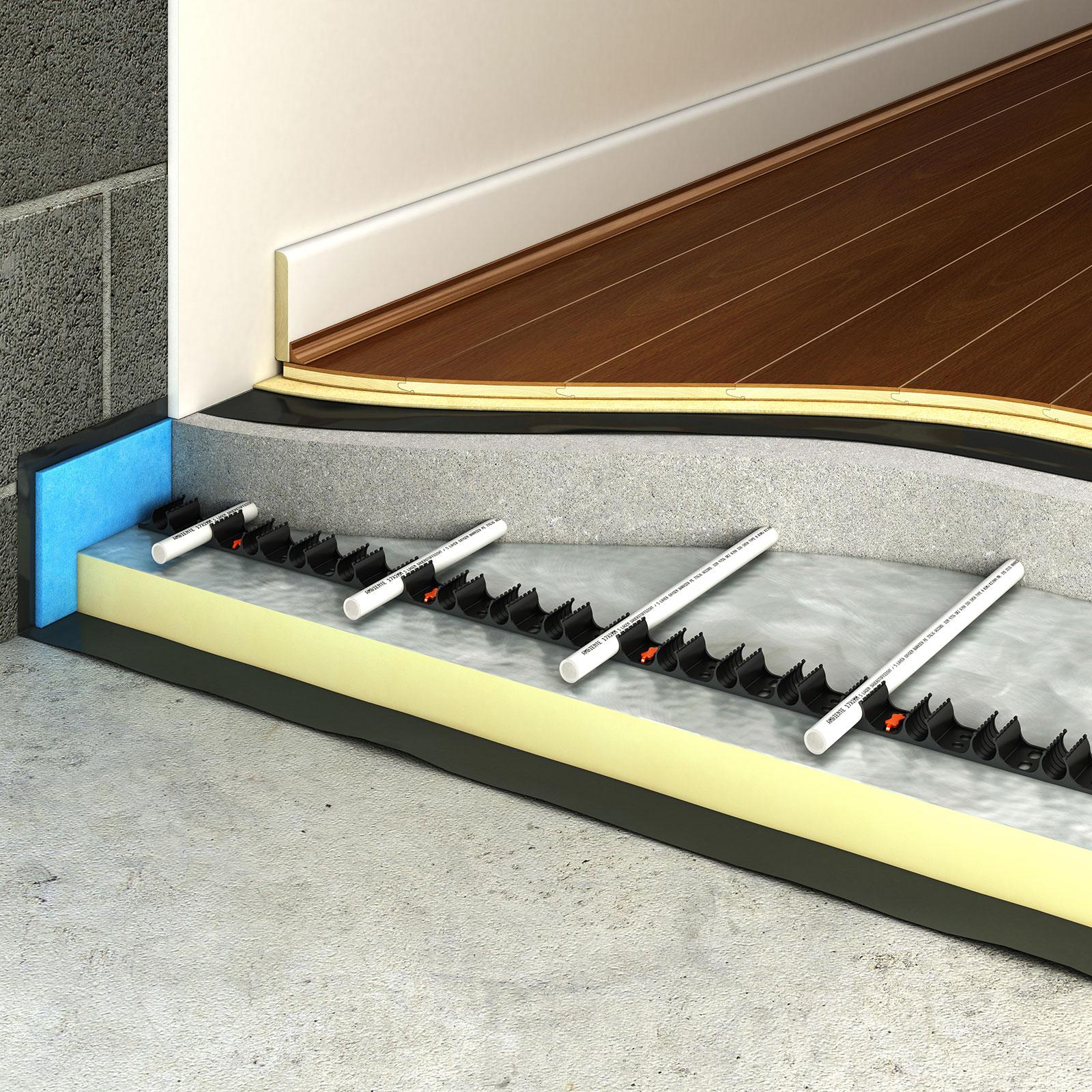 2019 kitchen trends underfloor heating