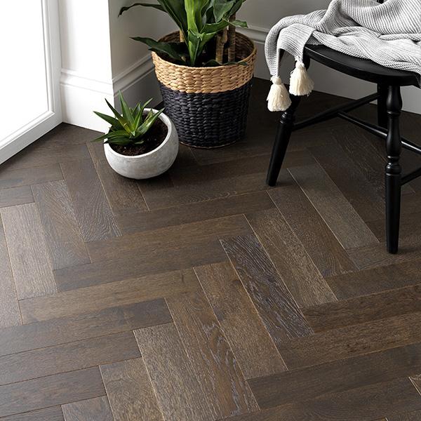 dark parquet woodpecker flooring