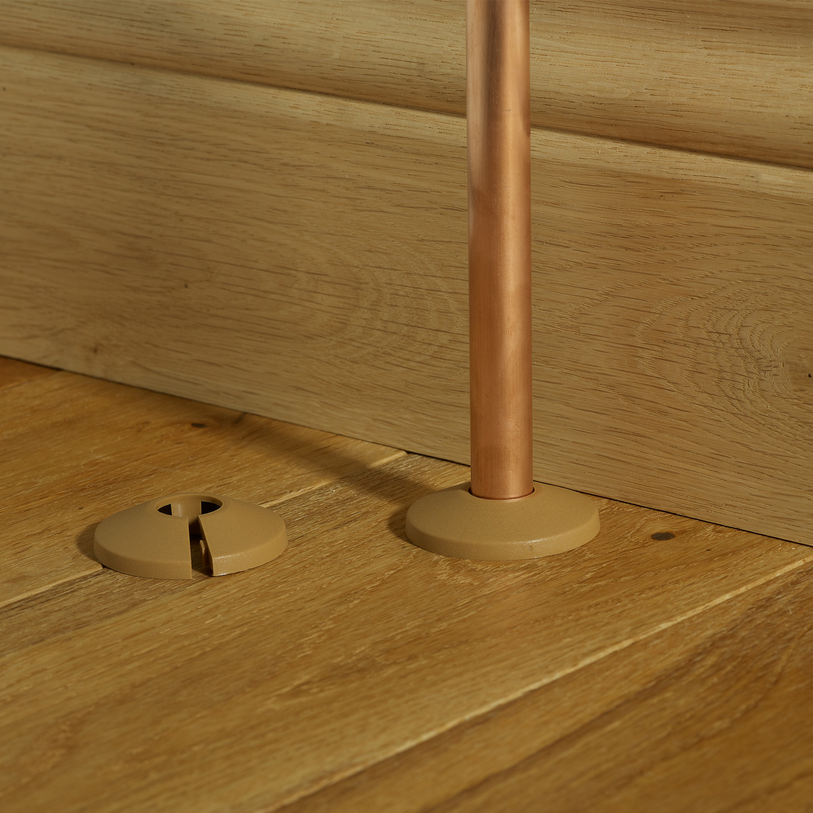 Wood Effect Pipe Covers Maple