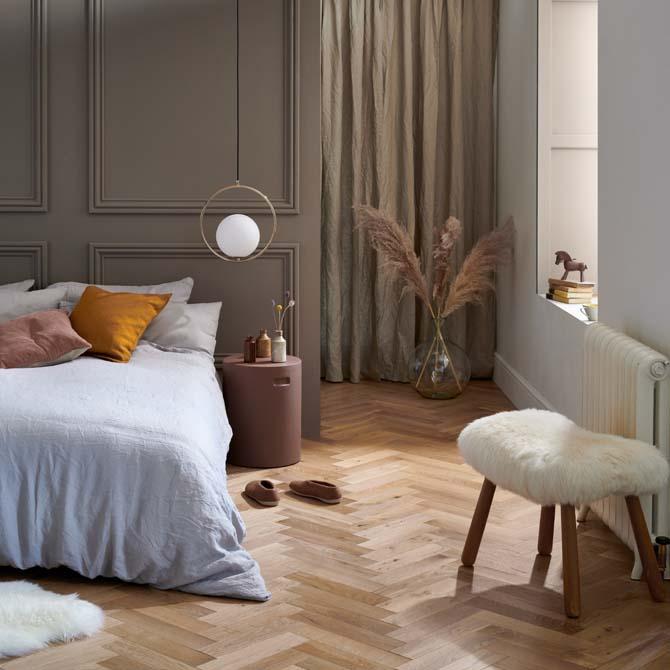goodrich natural oak engineered parquet flooring