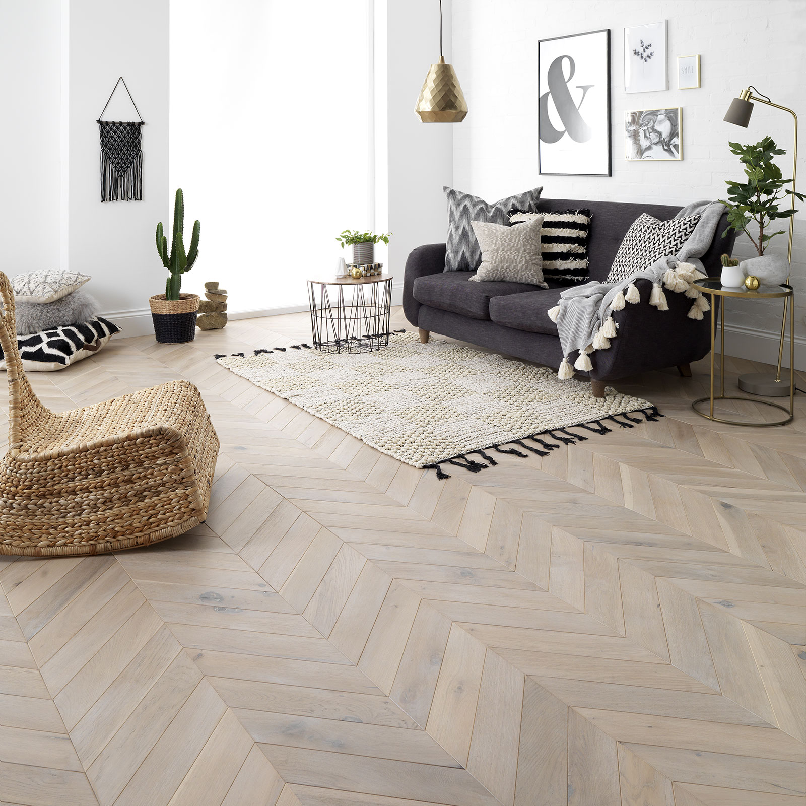 woodpecker flooring chervon