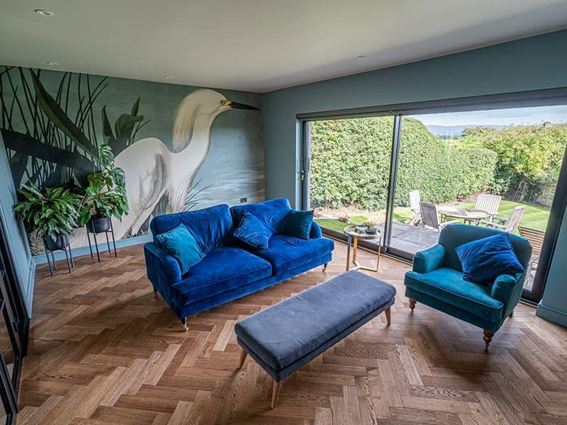 living room parquet flooring coffee oak
