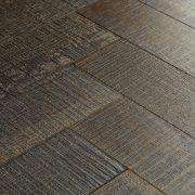 truffle oak parquet flooring swatch