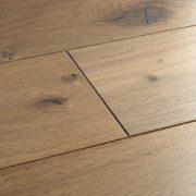 planed washed oak flooring swatch