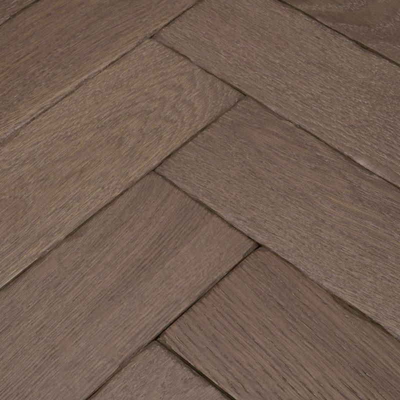 Engineered parquet flooring. Goodrich Barn