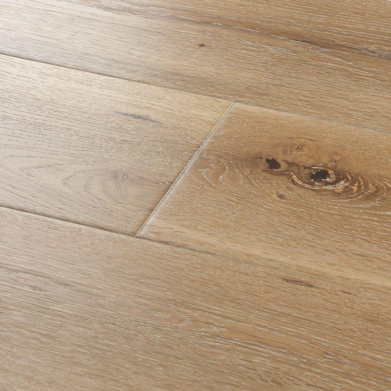 Solid wood flooring York White Washed Oak