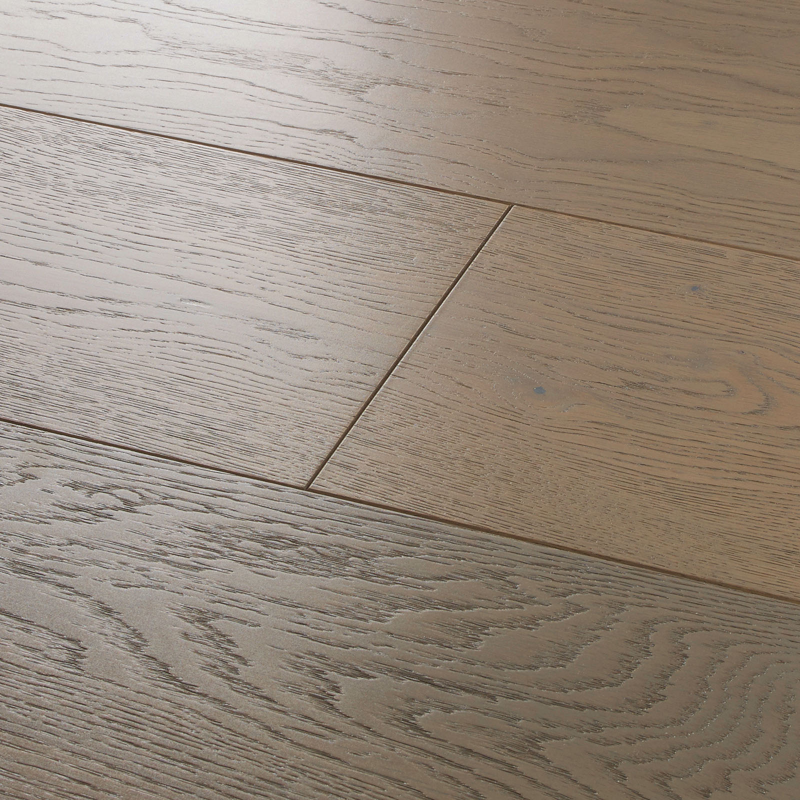 Salcombe Dune Oak greige Engineered wood flooring