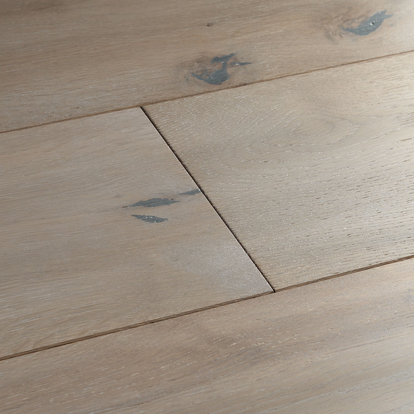Engineered hardwood flooring. Berkeley grey oak