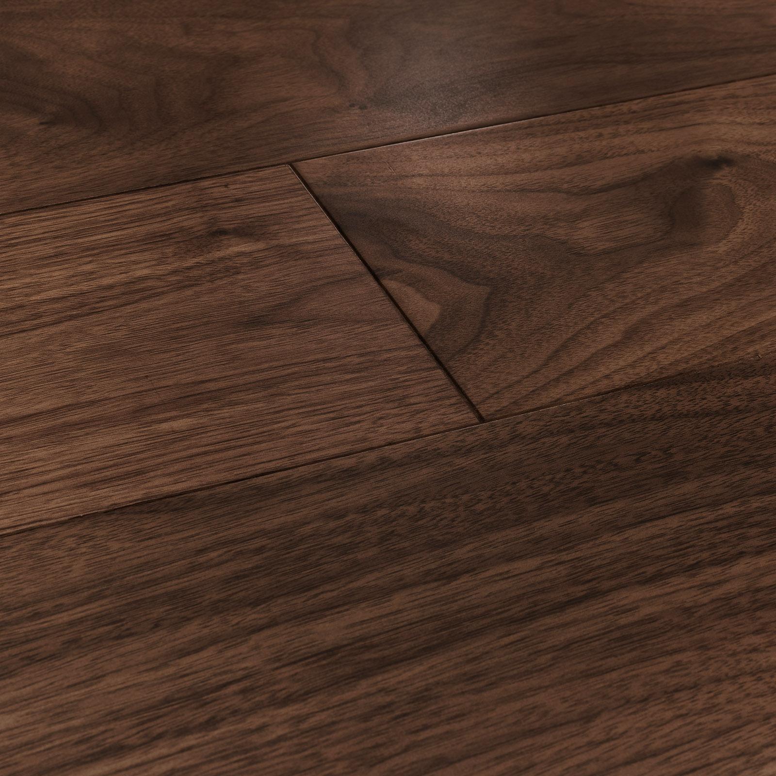 Engineered wood flooring. Berkeley walnut