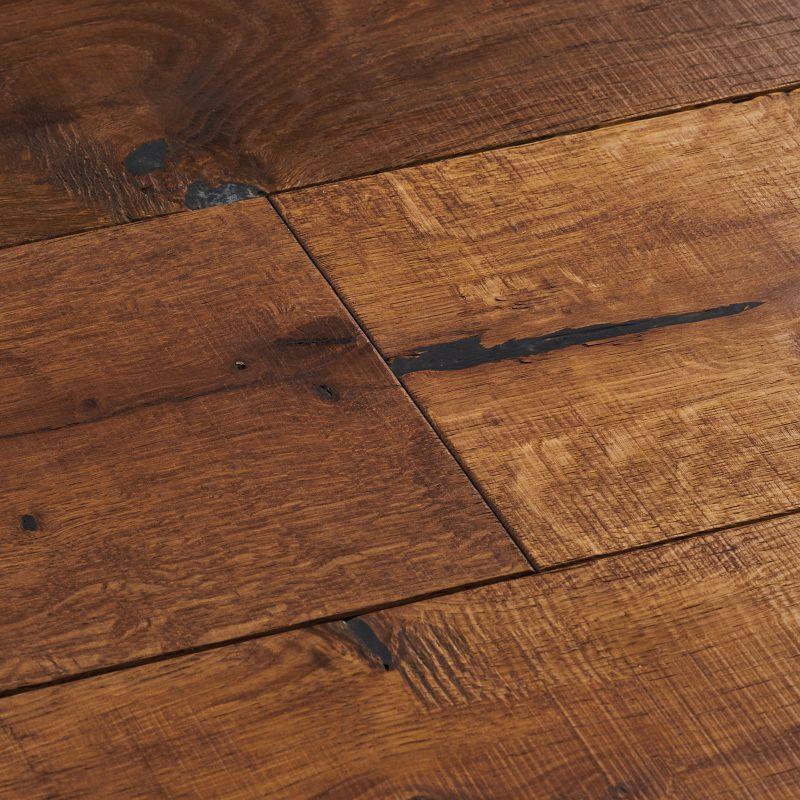 Engineered character wood flooring. Berkeley rugged