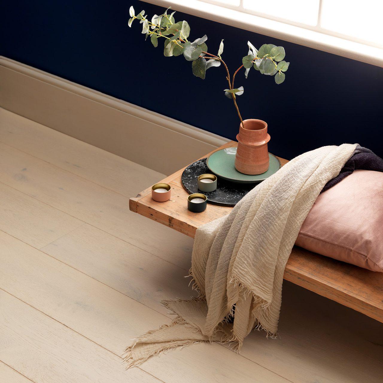 Engineered hardwood flooring. Chepstow vanilla