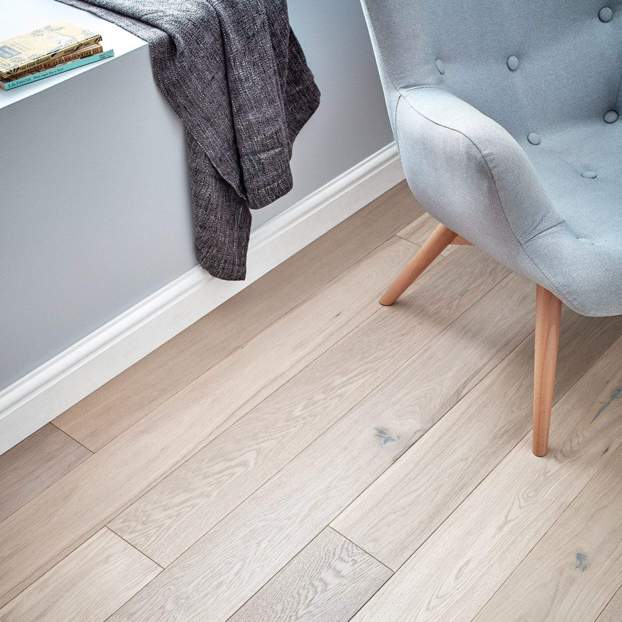 Harlech white oak. Engineered hardwood flooring